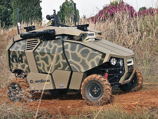 רכב קרבי בלתי מאויש גארדיום / צלם: יחצ